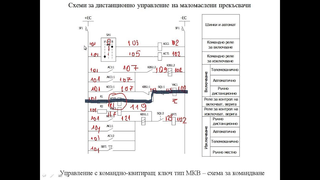 Circuit Breaker Wiring Diagrams 220 Volt Thermostat Diagram Medium Voltage Secondary - Youtube