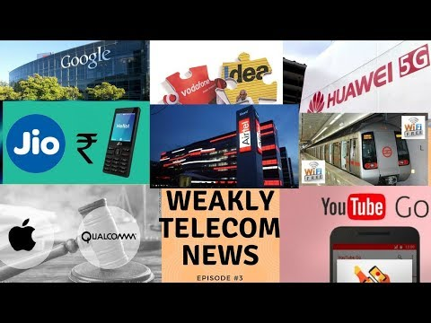 Weakly Telecom News- Vodafone & Idea Customer Looses, Free WiFi at Delhi Metro Free WiFi, Huawei 5G