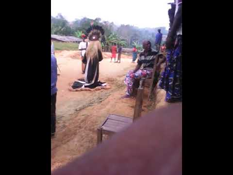 Ambazonia former British Trusted territory has traditional Dance