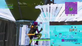Clutching it from the bottom in fortnite