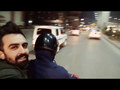 A part of our motorbike tour which from Islamabad to Ravalpindi
