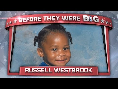 Russell westbrook as a child