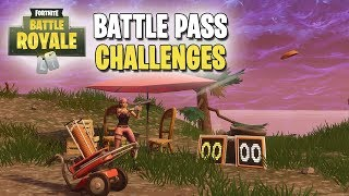 Fortnite | Battle Pass Challenges | Week #3 | Shoot a Clay Pigeon at Different Locations! (ALL)