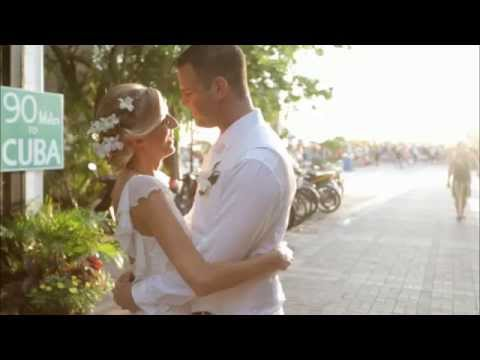 Smathers Beach, Key West Wedding With Andrea And Brian