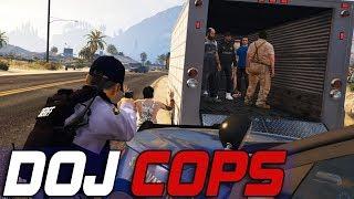Dept. of Justice Cops #547 - Human Smuggling