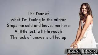 Mandy Moore - When I Wasn't Watching (Lyrics)