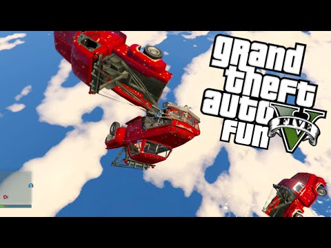 GTA 5 Next Gen Fun - Blimp Ride, Tow Truck...