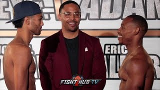 THE CONTENDER FINALE - SHANE MOSLEY JR VS. BRANDON ADAMS - FULL WEIGH IN & FACE OFF VIDEO