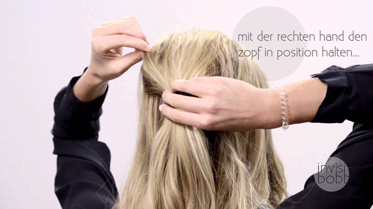 Invisibobble DIY lockige & schnelle Frisur
