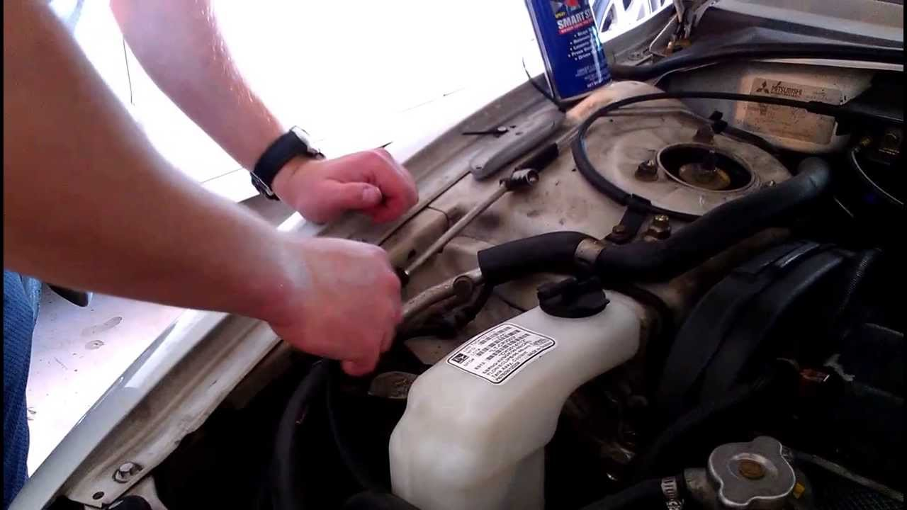 How To Replace A Coolant Tank Reservoir Youtube