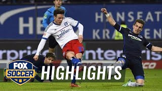 Video Gol Pertandingan Hamburger SV vs Hertha Berlin
