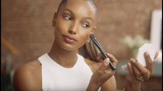 Jasmine Tookes y su maquillaje de día