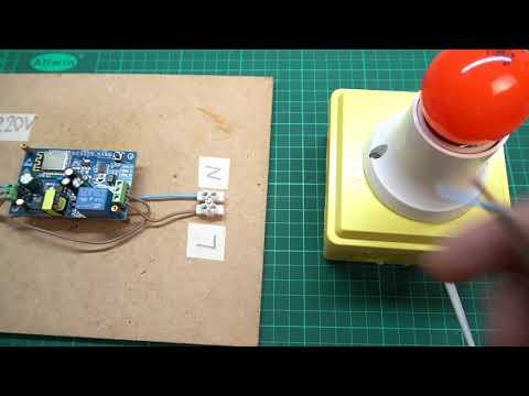 IOT Smart Home ESP8266 WiFi AC 110V/220V - ICStation - YouTube