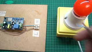IOT Smart Home ESP8266 WiFi  AC 110V/220V -  ICStation
