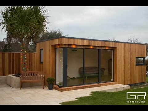 GARDEN ROOMS  in Ireland - Architechturally designed