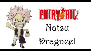 Fairy Tail:How To Make Natsu Dragneel Plushie Tutorial