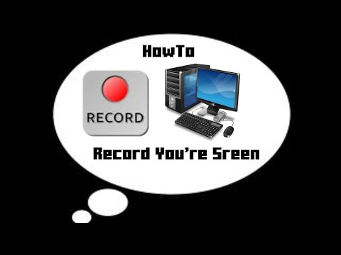 HowTo: Record You're Computer Screen 100% Safe (No Administrator Password)