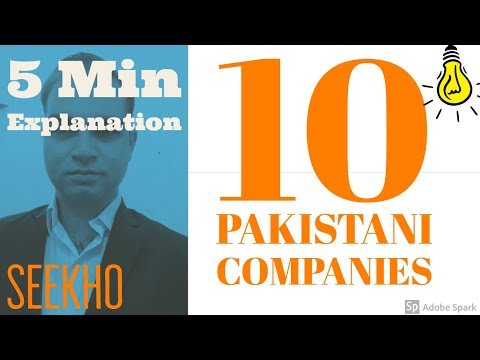 Top 10 Pakistani Companies (in Number of Shares)