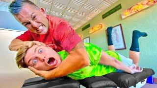 BEST BACK CRACK WINS!! (Team RAR Goes to Chiropractor)