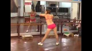 Thể dục thẩm mỹ - Chân và Eo 18p26. LH : 0987375790