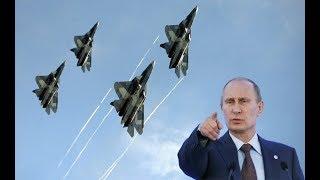 Nóng-Su 57 Nga T-ức t-ốc Trở Lại Syria// lần Này thì khác-Mỹ hãy đợi đấy