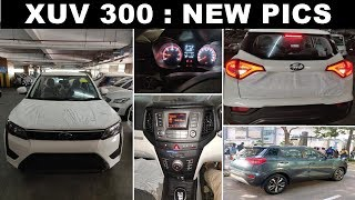Mahindra XUV 300 2019 in New pics : lower variant ? | ASY