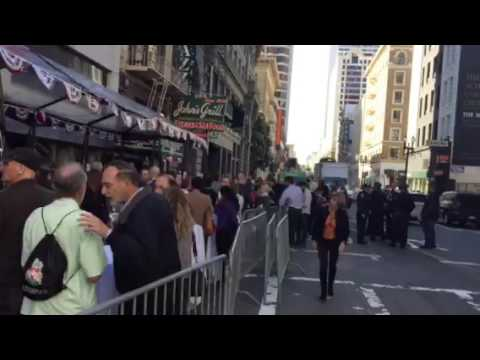 Election Day Luncheon By Willie Brown At John's Grill SF - Zennie62