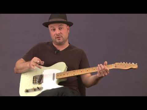 Country Guitar Lesson: Luther Perkins Right Hand Exercise