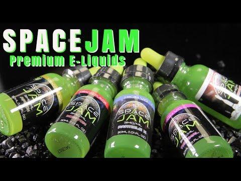 New SPACE JAM Premium E Liquids (New Flavors)