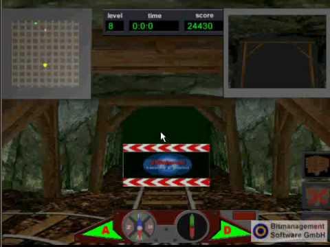 Web3D game Mine Rider - VRML/X3D