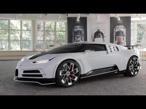 Bugatti Centodieci - Presentation