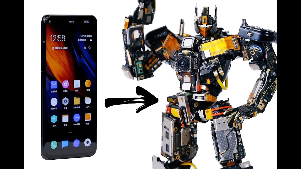 I TURN a SMARTPHONE into a ROBOT