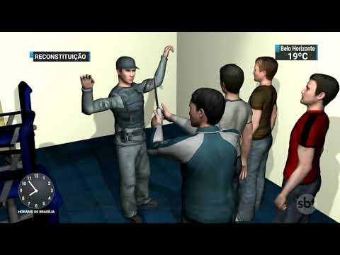 Criminosos invadem base do Samu e roubam ambulância em São Paulo   SBT Brasil (20/11/17)