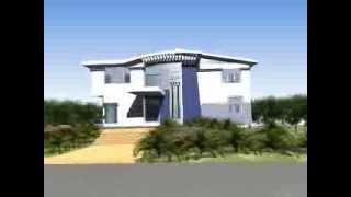 Ultra Modern Home Stock Plan UM107