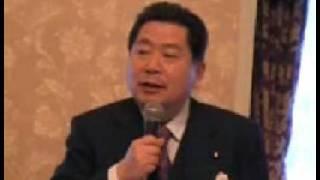 【中川秀直】1218清和研「今は政局のときではない」 中川秀直 動画 29
