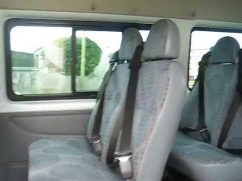 2010 FORD TRANSIT 17 SEATER MINIBUS