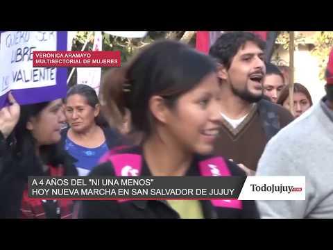 Jujuy también marchará hoy con la consigna Ni una Menos