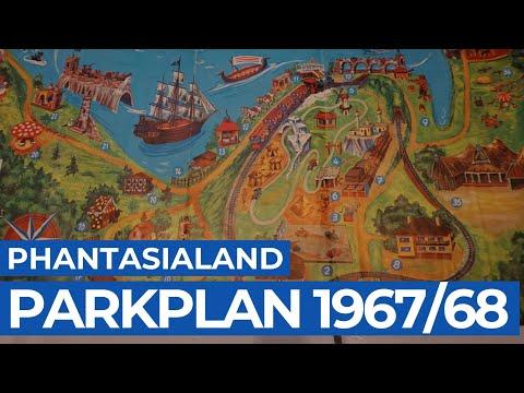 Phantasialand Park Karte.Phantasialand 1967 Erster Parkplan Phlhistory1 Anderswohin