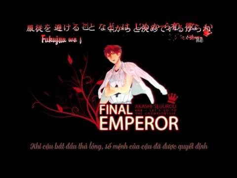 Kuroko no Basket Vietsub Character Song Final Emperor  Akashi Seijuuro