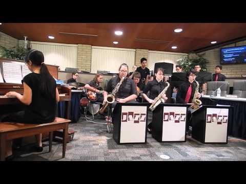 Rhodes Junior High School Jazz Band Feb. 9, 2016