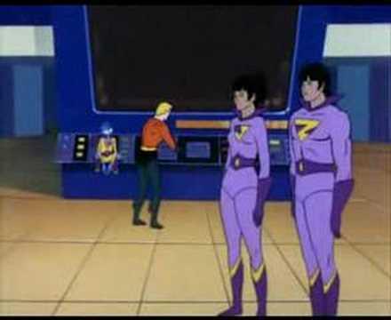 Wonder Twins and Aquaman hypnotized