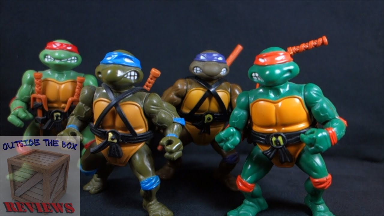 Share tmnt 25th anniversary toys very