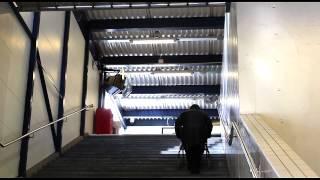 2013-03-13 Handens pendeltågstation - Trasig hiss drabbar funktionshindrade