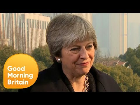 Theresa May in China: Our Vision for a Global Britain | Good Morning Britain