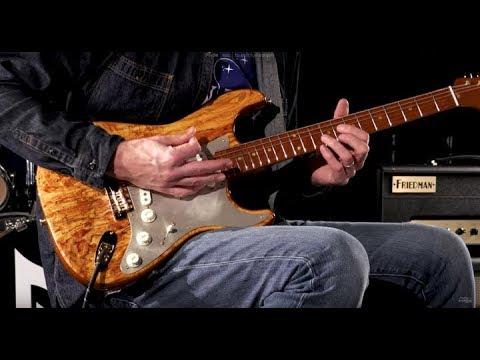 Fender Custom Shop Wildwood 10 Artisan Stratocaster - Spalted Maple  •  SN: CZ533256