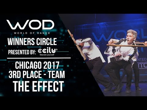 The Effect | 3rd Place Team Division | Winners Circle | World of Dance Chicago 2017 | #WODCHI17