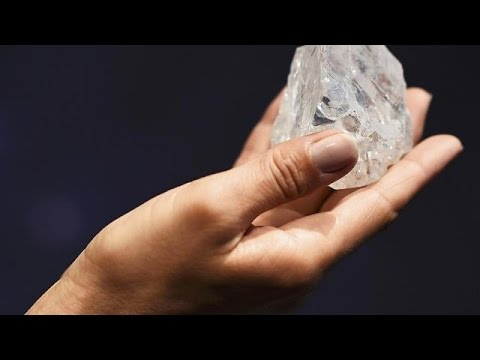 World's largest uncut diamond fails to sell in London auction