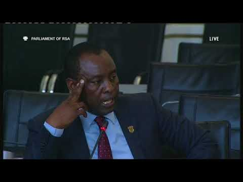Minister Zwane answers question on relationship with Gupta family