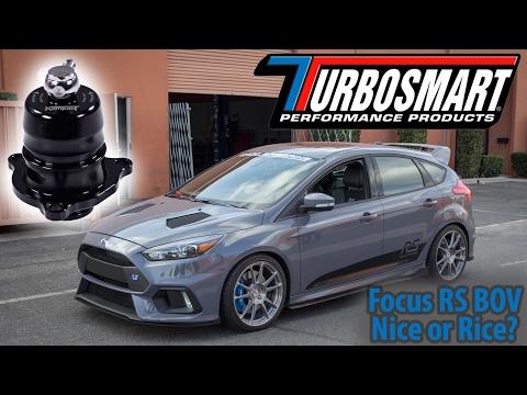 Focus RS BOV Comparison-Stock VS. Turbosmart Kompact Shortie Dual Port