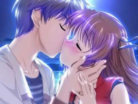 Amime Cute Kiss